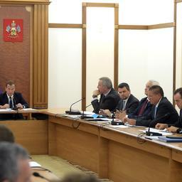 Первое заседание Правительственной комиссии по импортозамещению. Фото пресс-службы Правительства РФ