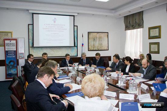 18 апреля состоялось первое заседание комиссии РСПП по рыбному хозяйству и аквакультуре