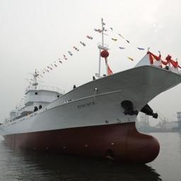 Новый сайролов Преображенской базы тралового флота «Лучегорск». Фото пресс-службы ПБТФ