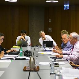 Рабочая группа по осетровым видам на сессии Комитета по животным СИТИЕС. Фото пресс-службы ВНИРО