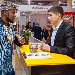 5 по 9 февраля в Москве проходила 25-я международная выставка продуктов питания, напитков и сырья для их производства – «Продэкспо-2018». Фото АО «Экспоцентр»