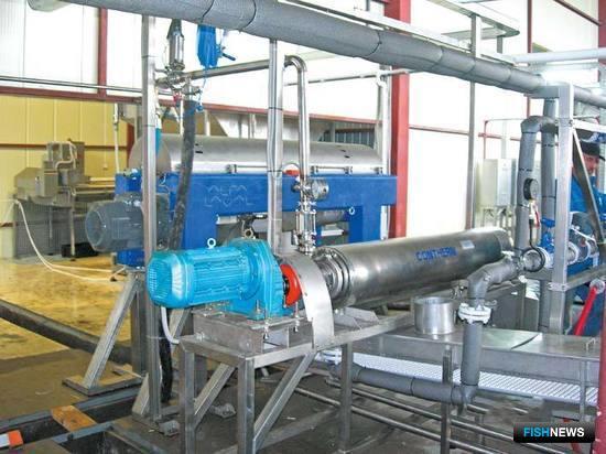 Жиромучная установка производительностью 36 тонн в сутки