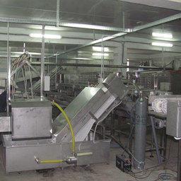 Монтаж рыбоперерабатывающего цеха