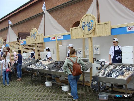 Фестиваль «Рыбная неделя» прошел в Санкт-Петербурге
