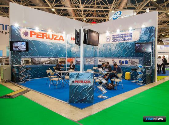 Тематике рыбопереработки посвящены стенды известных российских и зарубежных компаний