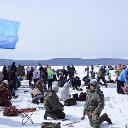 В поселке Чныррах Хабаровского края весело отметили День корюшки