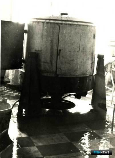 Установка, разработанная Екатериной Белой для выпуска лососевой икры
