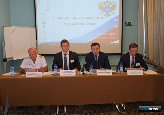 В Красноярске проходит межрегиональное совещание по проблемам негативного антропогенного воздействия на водные биоресурсы. Фото пресс-службы Росрыболовства