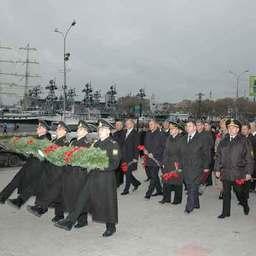 Проводы «Паллады» в кругосветное плавание. Владивосток, ноябрь, 2007 г.
