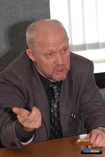 Первый заместитель генерального директора рыбопромышленной группы «Бином» Александр АЛИФИРЕНКО