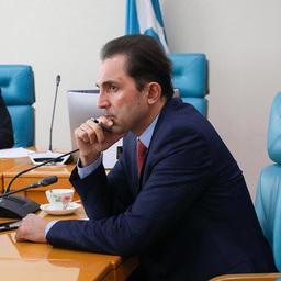 Спикер Сахалинской областной думы Андрей ХАПОЧКИН. Фото пресс-службы регионального парламента