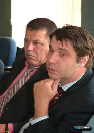 Арслан ВИСАИДОВ (ПБТФ) и Вячеслав МОСКАЛЬЦОВ (Дальрыба)