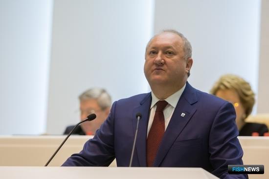Губернатор Камчатского края Владимир Илюхин. Фото пресс-центра Совфеда