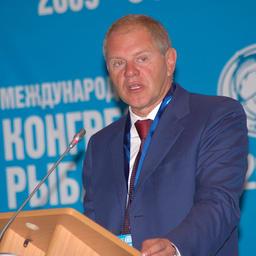 Руководитель Федерального агентства по рыболовству Андрей КРАЙНИЙ