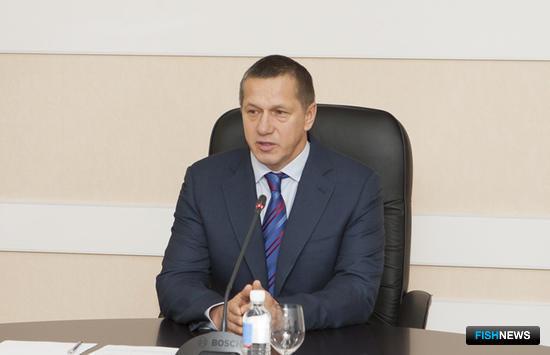 Вице-премьер – полномочный представитель президента в Дальневосточном федеральном округе Юрий ТРУТНЕВ