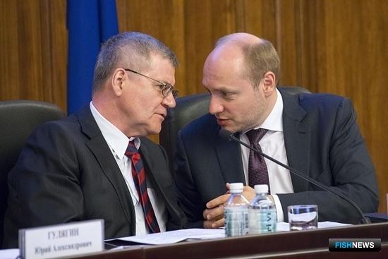 Генеральный прокурор Юрий ЧАЙКА и глава Минвостокразвития Александр ГАЛУШКА провели совместное заседание коллегий двух ведомств. Фото с сайта Генпрокуратуры