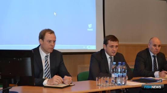Глава Росрыболовства Илья Шестаков провел совещание с представителями рыбацкой общественности Северного бассейна. Фото пресс-службы ведомства.