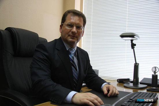 Начальник ФГУ «Центр системы мониторинга рыболовства и связи» Максим Санько