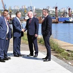 ФГУП «Нацрыбресурс» и ООО «Диомидовский рыбный порт» будут совместно реализовывать проект по развитию порта. Фото пресс-службы «Нацрыбресурса»