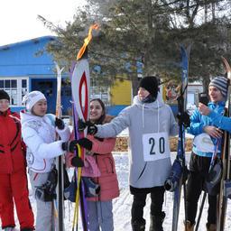Огонь соревнований у спортивной делегации студентов Дальрыбвтуза