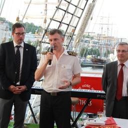 «Крузенштерн» завершил трехдневный визит в порт Турку. Фото пресс-службы БГАРФ.
