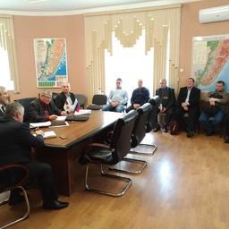 Вводные по работе штаба оперативного реагирования на чрезвычайные ситуации с судами обсудили на совещании в Приморском теруправлении Росрыболовства