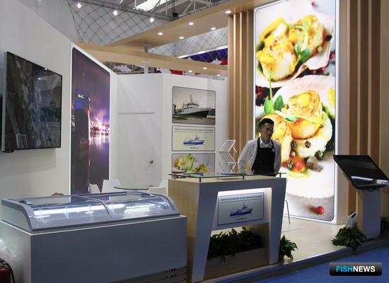 ООО «Ковда», участник российского объединенного стенда на рыбохозяйственной выставке в Циндао China Fisheries and Seafood Expo-2017