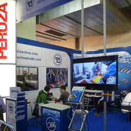Совместный стенд компаний «Технологическое оборудование» и «ПЕРУЗА» на Seafood Expo 2014