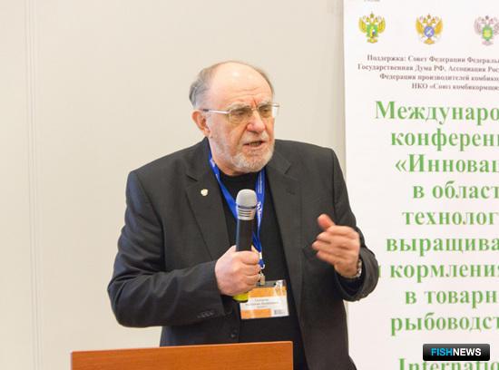 Директор краснодарского филиала ВНИРО Валентин СКЛЯРОВ