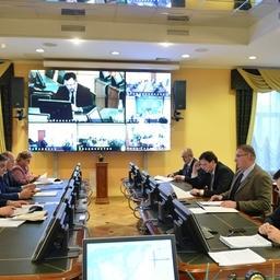 Заседание штаба охотоморской путины прошло в режиме видеоконференции. Фото пресс-службы Росрыболовства