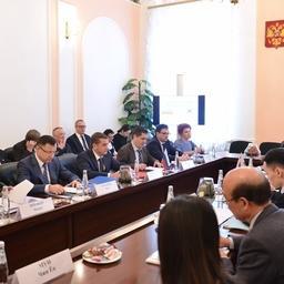 Работа 26-й сессии российско-корейской комиссии по рыбному хозяйству в Москве. Фото пресс-службы Росрыболовства