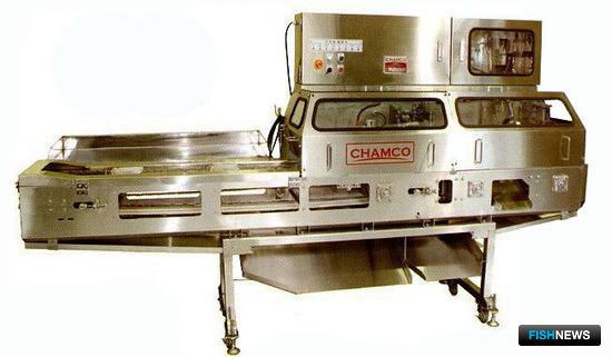 Машина Chamco для переработки кальмара