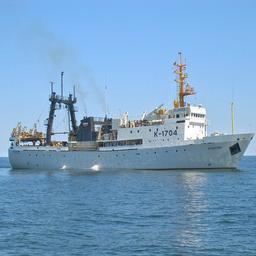 НИС «Атлантида» отправилось к берегам Африки. Фото пресс-службы АтлантНИРО
