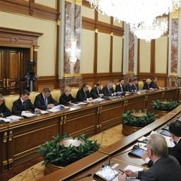 Заседание Правительства 28 февраля 2013 г. Фото пресс-службы Правительства РФ.