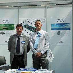 Стенд компании «Альфа Лаваль» на Международном форуме «Морская индустрия России»