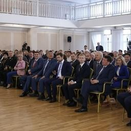 Премьер-министр Дмитрий МЕДВЕДЕВ провел встречу с представителями малого и среднего бизнеса в Улан-Удэ. Фото пресс-службы Правительства РФ