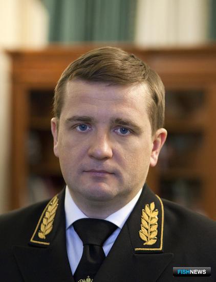 Заместитель министра сельского хозяйства – руководитель Росрыболовства Илья ШЕСТАКОВ