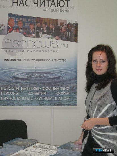 Шеф-редактор РИА Fishnews.ru (Москва и Центральный федеральный округ) Наталья Сычева