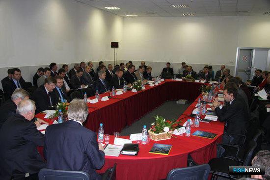 Круглый стол «Перспективы строительства флота для рыбохозяйственного комплекса»на InterFISH