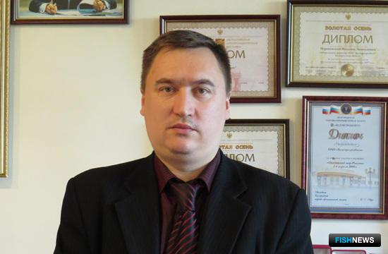 Генеральный директор ОАО «Белгородрыбхоз» Сергей МАРТЫНЕНКО. Фото предоставлено «Белгородрыбхозом»