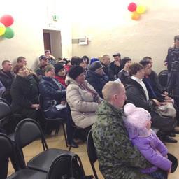 Встреча жителей поселка с представителями правительства Сахалинской области, регионального МФЦ и муниципальных властей