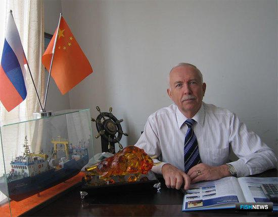 Виктор КАРПОВ – генеральный директор представительства в КНР – «Russian Virtus Co., Ltd Office In Dalian»