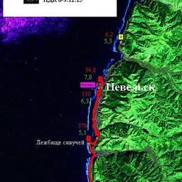 Карта-схема станций. Предоставлена пресс-службой СахНИРО