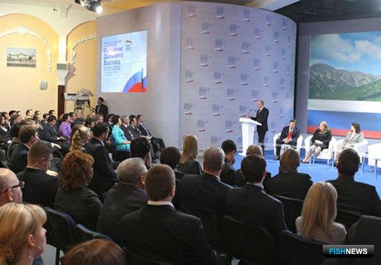 Владимир ПУТИН на Межрегиональной конференции региональных отделений «Единой России» Дальневосточного федерального округа