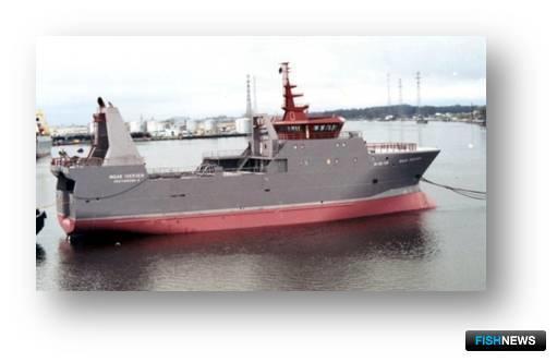 Рис.1 - Арктический траулер пр. NVC-369, длина – 64,9 м