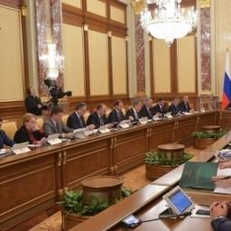 Заседание Правительства РФ. Фото пресс-службы кабмина