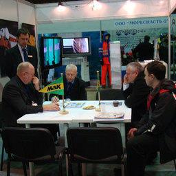 13-я Международная специализированная выставка «Море. Ресурсы. Технологии 2012». Мурманск, март 2012 г.