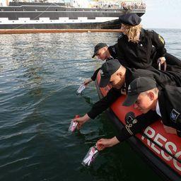 «Письма надежды» отправились в путешествие по Балтийскому морю. Фото пресс-службы БГАРФ.