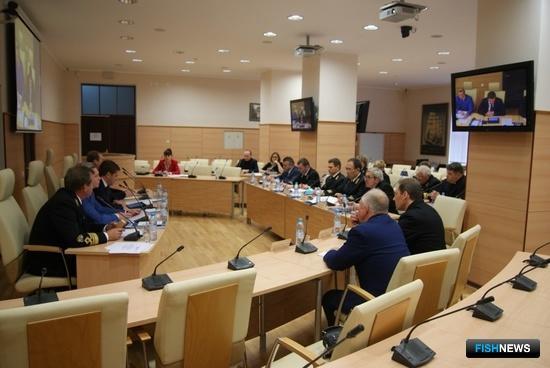 В Калининграде состоялся Совет ректоров образовательных организаций Федерального агентства по рыболовству. Фото пресс-службы ФАР
