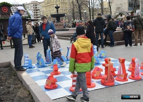 В столице открылся рыбный фестиваль. Фото пресс-службы Росрыболовства